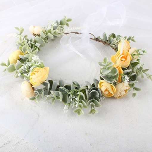 Hairband Sweet Plant Engagement Hair Accessories