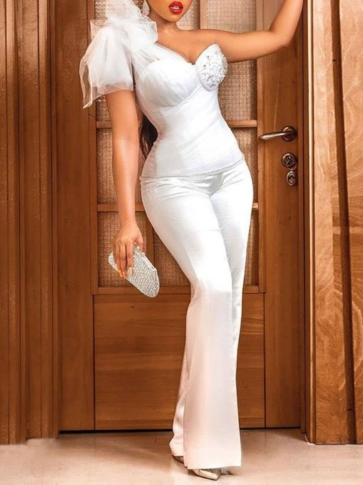 Sheath Floor-Length Short Sleeves Evening Two Piece Sets 2021