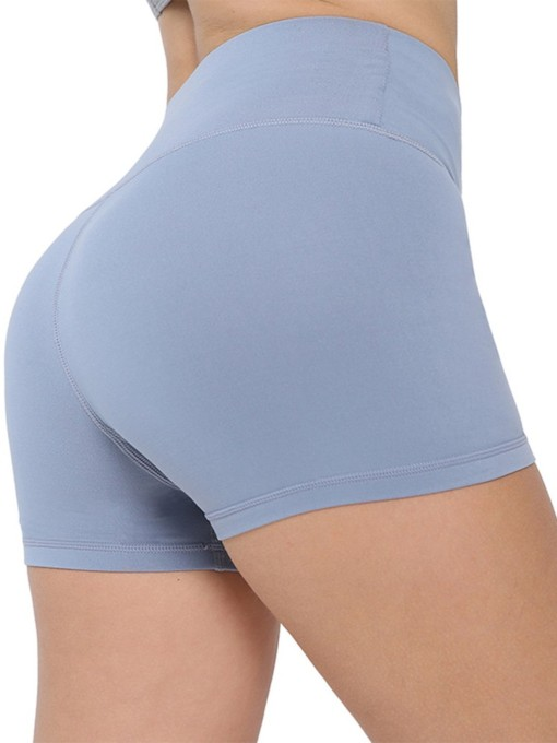 Solid Spring Female Shorts Pants