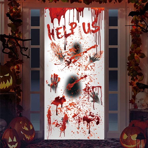 Scary Halloween PVC Wall Stickers Wall Decorations