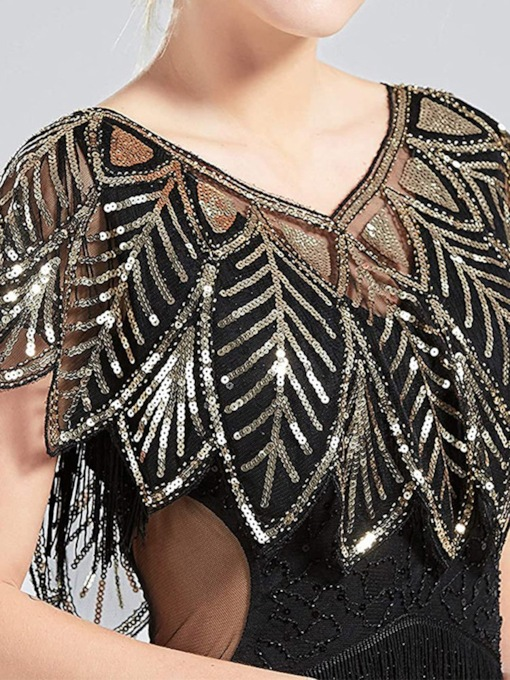 Sequins Short Sleeve Tulle Formal Evening Occasion Shawl 2021