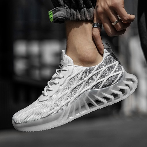 Lace-Up Sports Flat With Low-Cut Upper Round Toe Sneakers