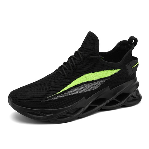 Flat With Lace-Up Sports Mesh Sneakers