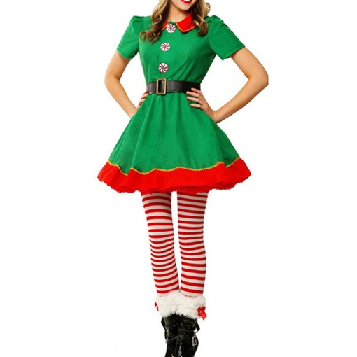 Christmas Holiday European Family Costumes