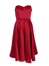 Sweetheart Bowknot A Line Homecoming Dress