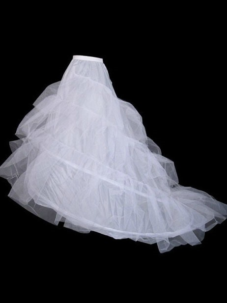 Organza Petticoat with Tailing