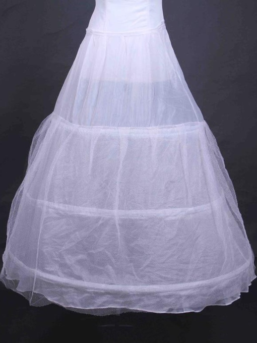 Floor Length Gauze Wedding Petticoat