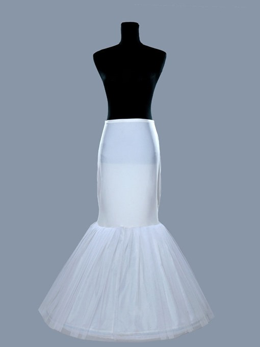 Fishbone Shaped Gauze Wedding Petticoat