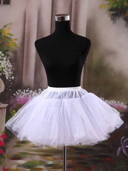 Short Gauze Wedding Petticoat