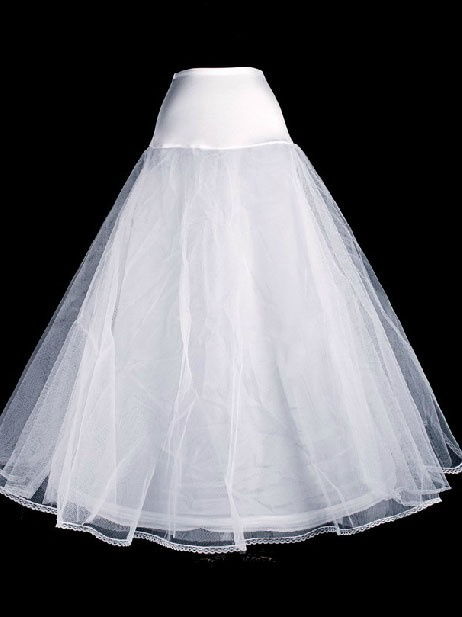 Smooth Single Steel Wire Gauze Wedding Petticoat