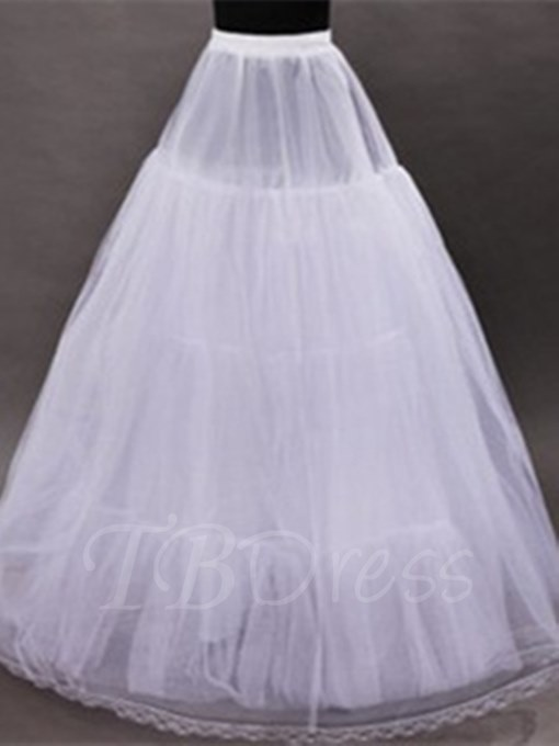 Economical Gauze Wedding Petticoat