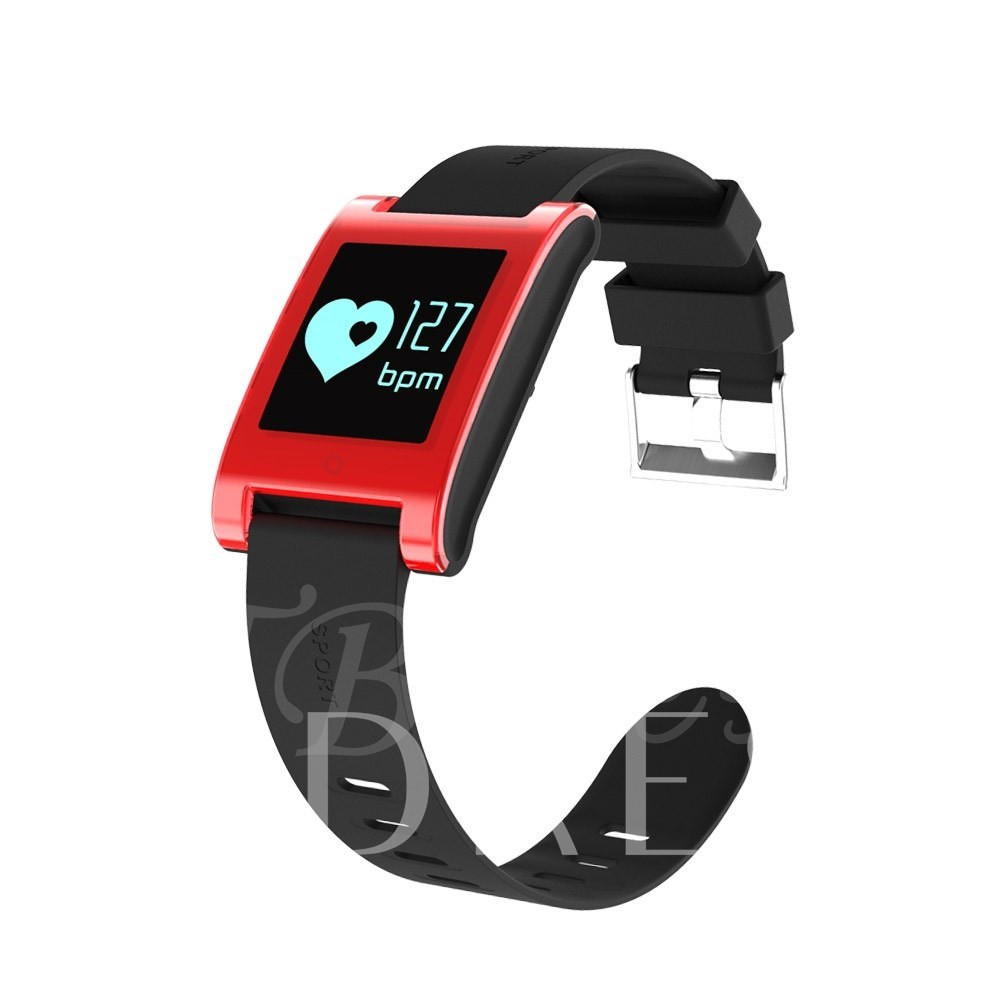 DM68 Smartwatch Heart Rate Monitor Waterproof for Apple iPhone Samsung Phones