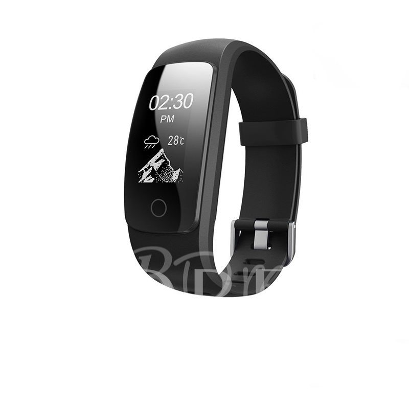 IDO107 Waterproof Smart Bracelet Support Anti-lost Heart Rate Activity Monitor