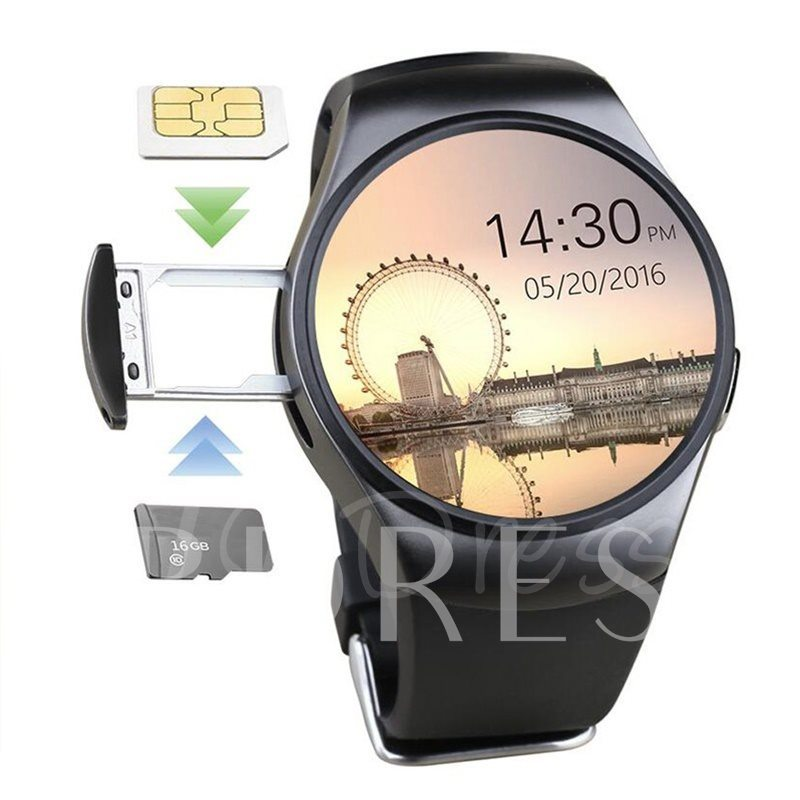 Smart Watch Life Waterproof Support TF&SIM Card for iPhone Samsung LG Phones