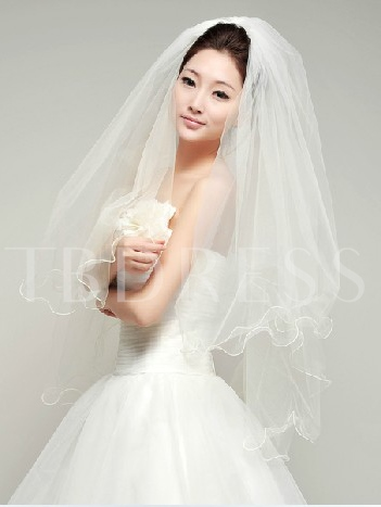 Tulle Elbow Wedding Veil