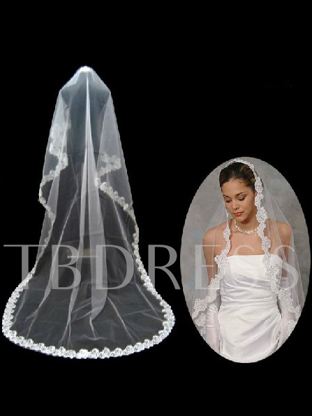 Chapel Wedding Bridal Veil