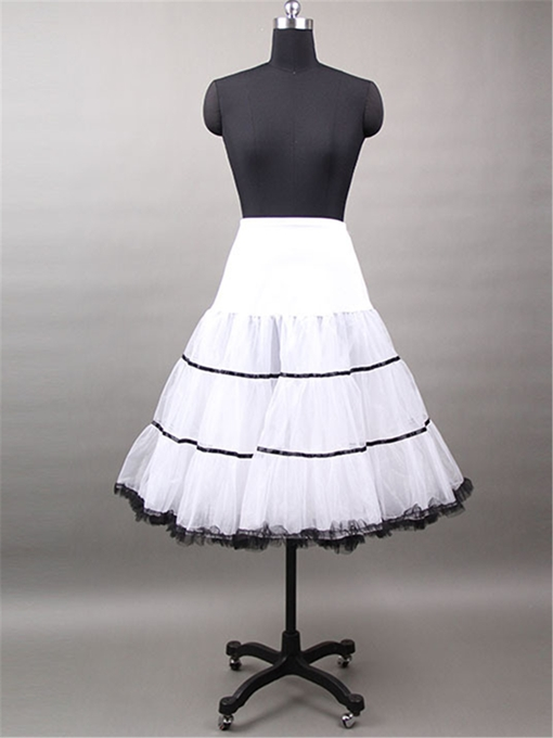 Knee-Length Organza Wedding Petticoat