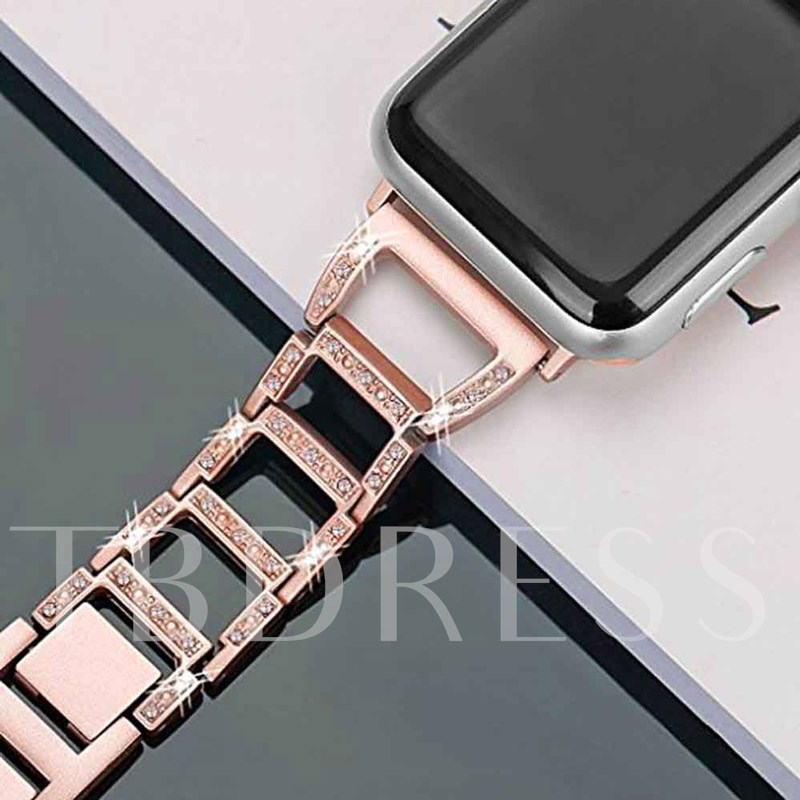 Fasion Smart Watche Band Metal Stainless Steel Chain Strap