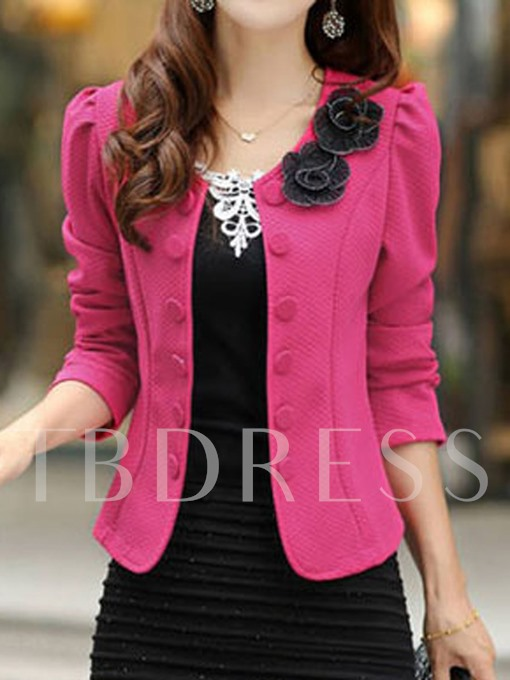 Slim All-Matched Double-Breasted Women's Blazer