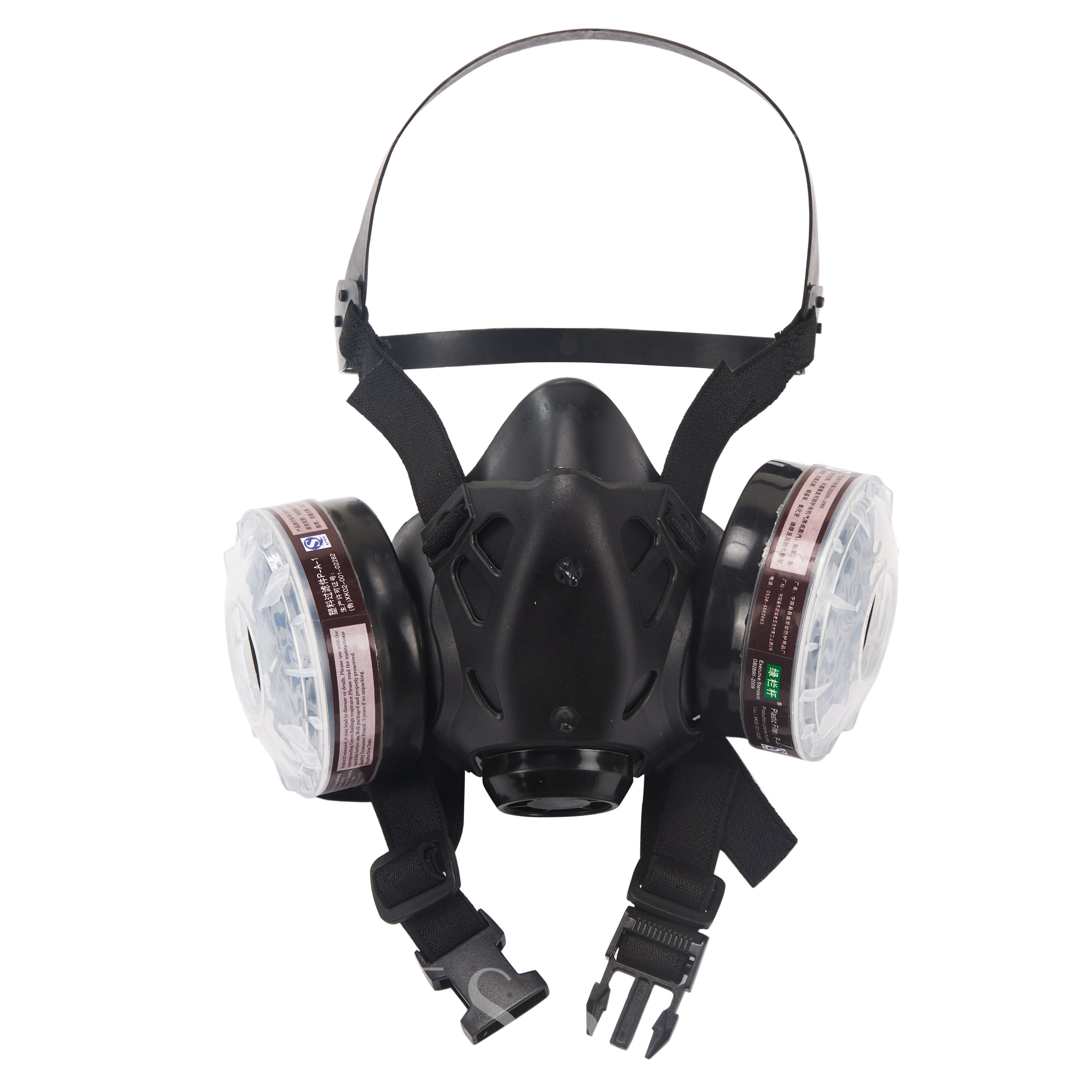 Double Tank Filter Half Mask Dustproof Anti-Chemical Formaldehyde Dust mask