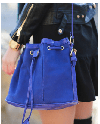 Fashion Outfits with Patchwork Tassel Shoulder Bag 1