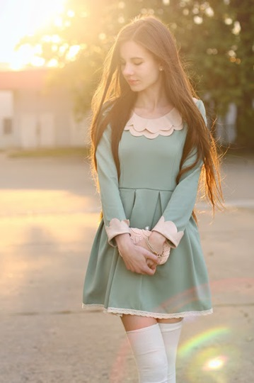Mint Flared Dress: Comfortable and Cute 4