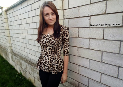 Fall in Love with Long Sleeve Leopard Blouse 2