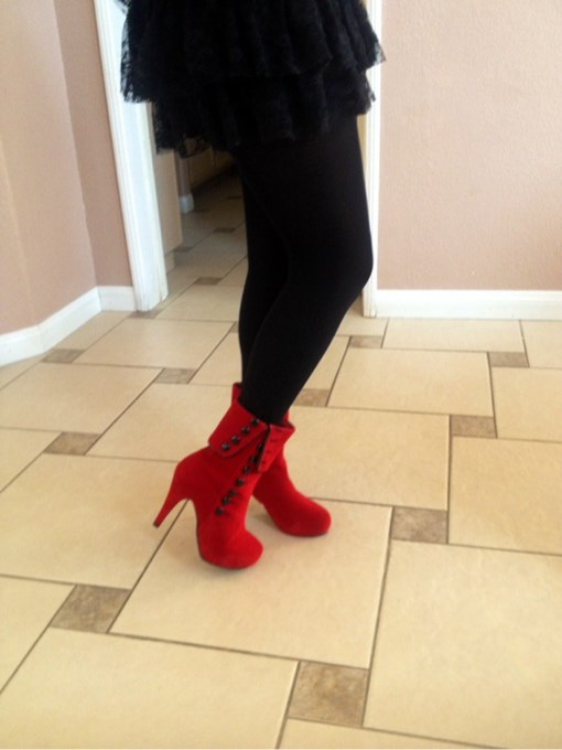Fashion Boots Suede Winter
