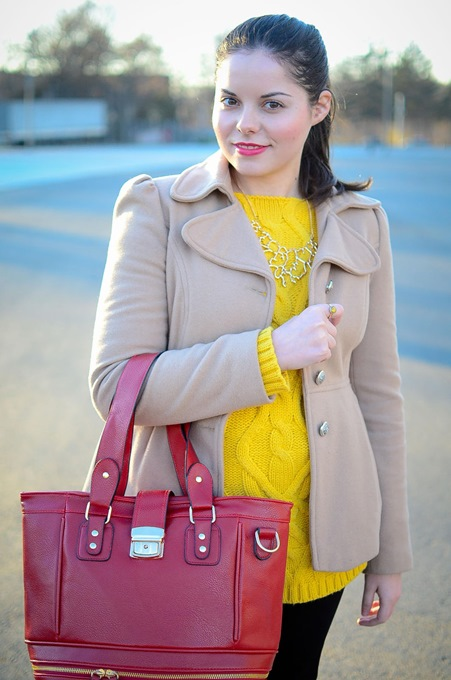 Red Shoulder Bag with Perfect Design 2